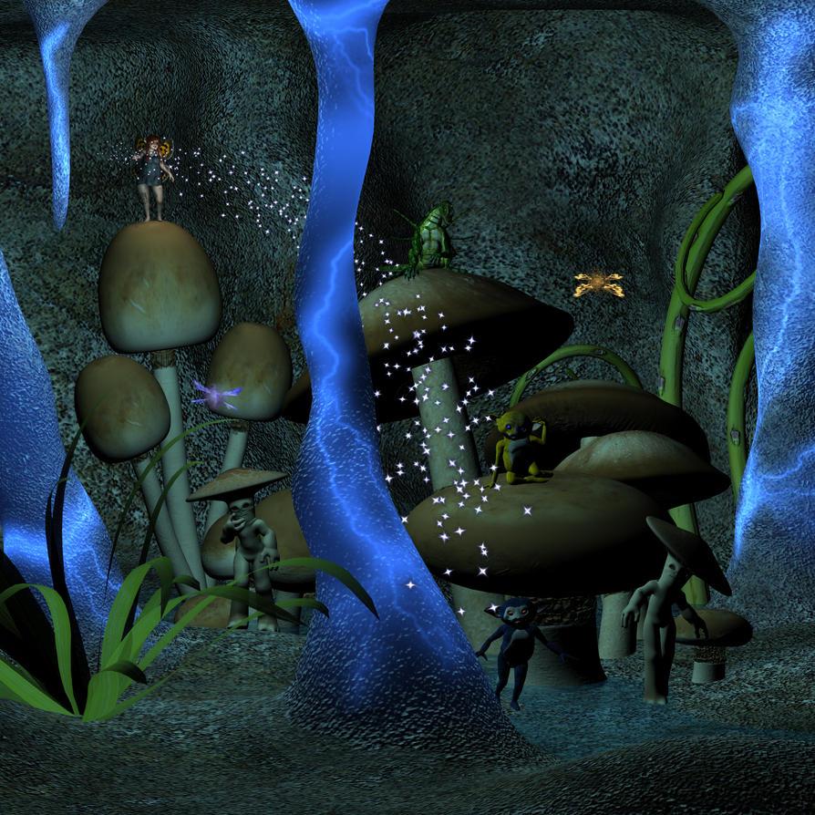 Cavern by Goldenthrush