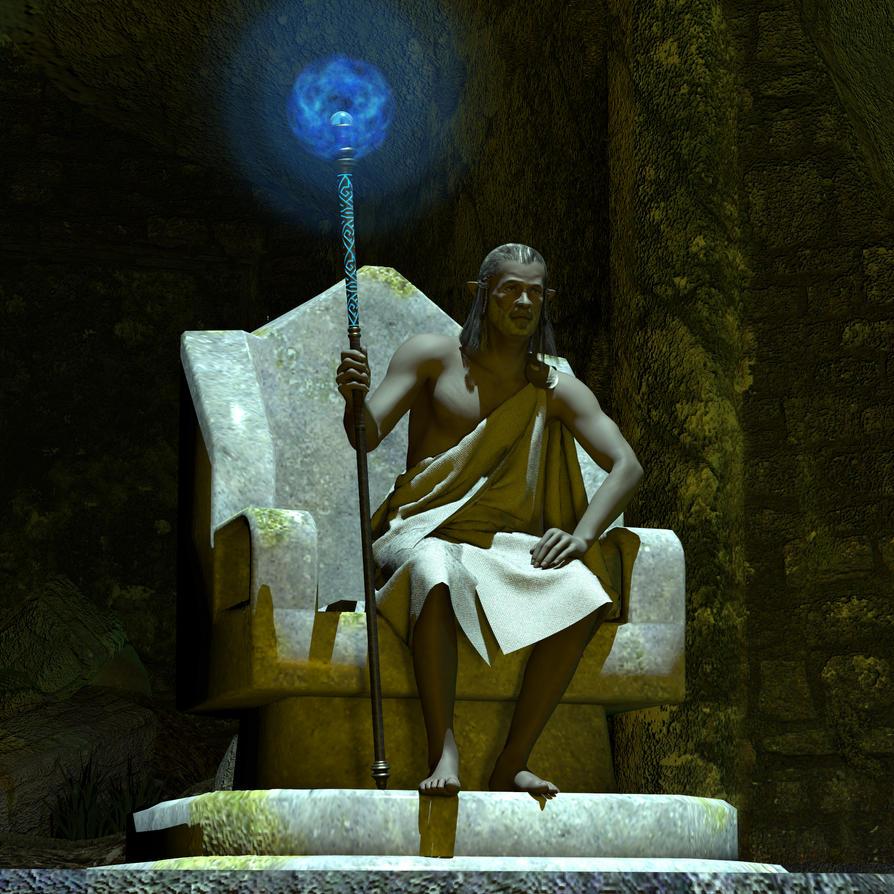 Stone King by Goldenthrush