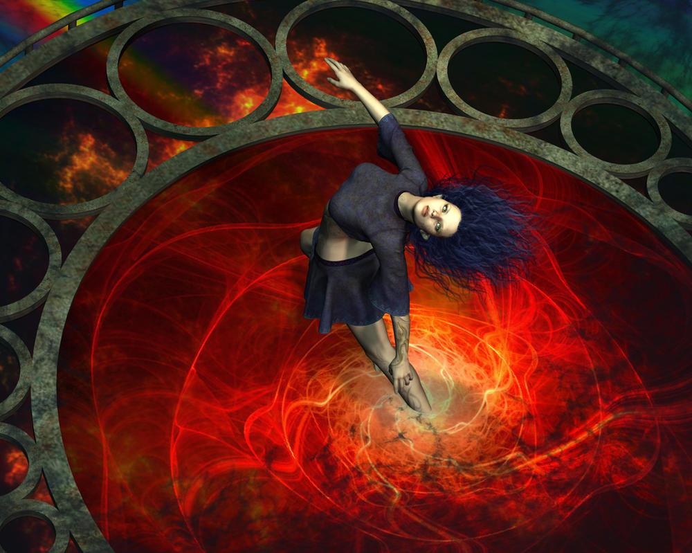 Fire Portal by Goldenthrush