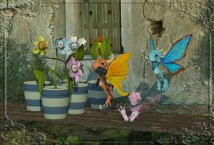 Bloomin' Dragons