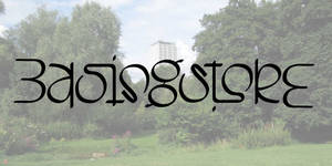 Basingstoke ambigram