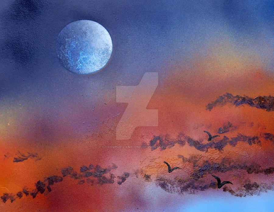 Sunset n' moon by larkspur-lane-emp