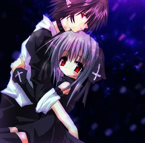 Purple Anime by BlAhIsMyNaMe