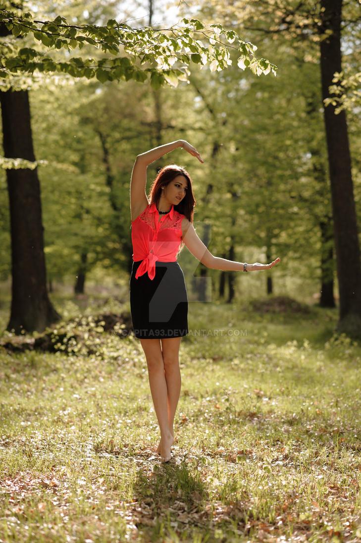 Forest ballerine by capita93