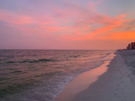 Perdido Key Beach Sunset