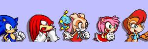 Sally Acorn Sonic Advance Dialogue Sprite
