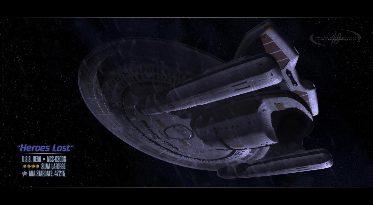 Heroes Lost - U.S.S. Hera by overseer