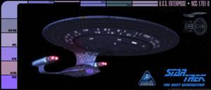 U.S.S. Enterprise - NCC-1701-D by overseer