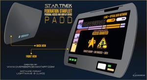 Starfleet PADD (Star Trek)