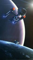 Destiny Moon (Part II) by overseer