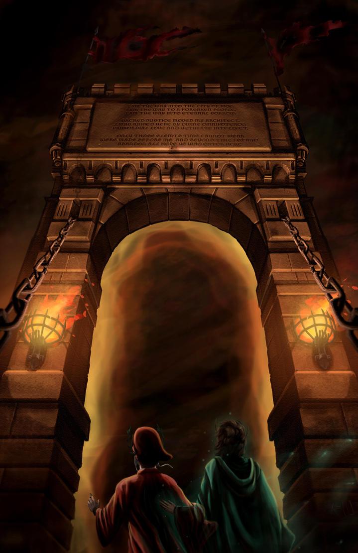 Dante's Inferno: Gates of Hell by Txikimorin