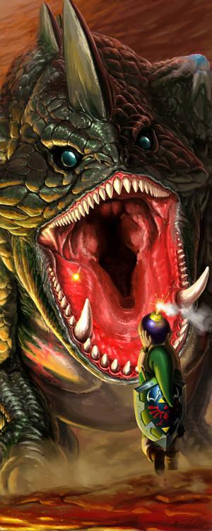 Link vs King Dodongo