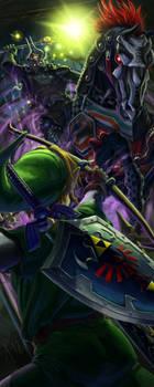 Link vs Phantom Ganon