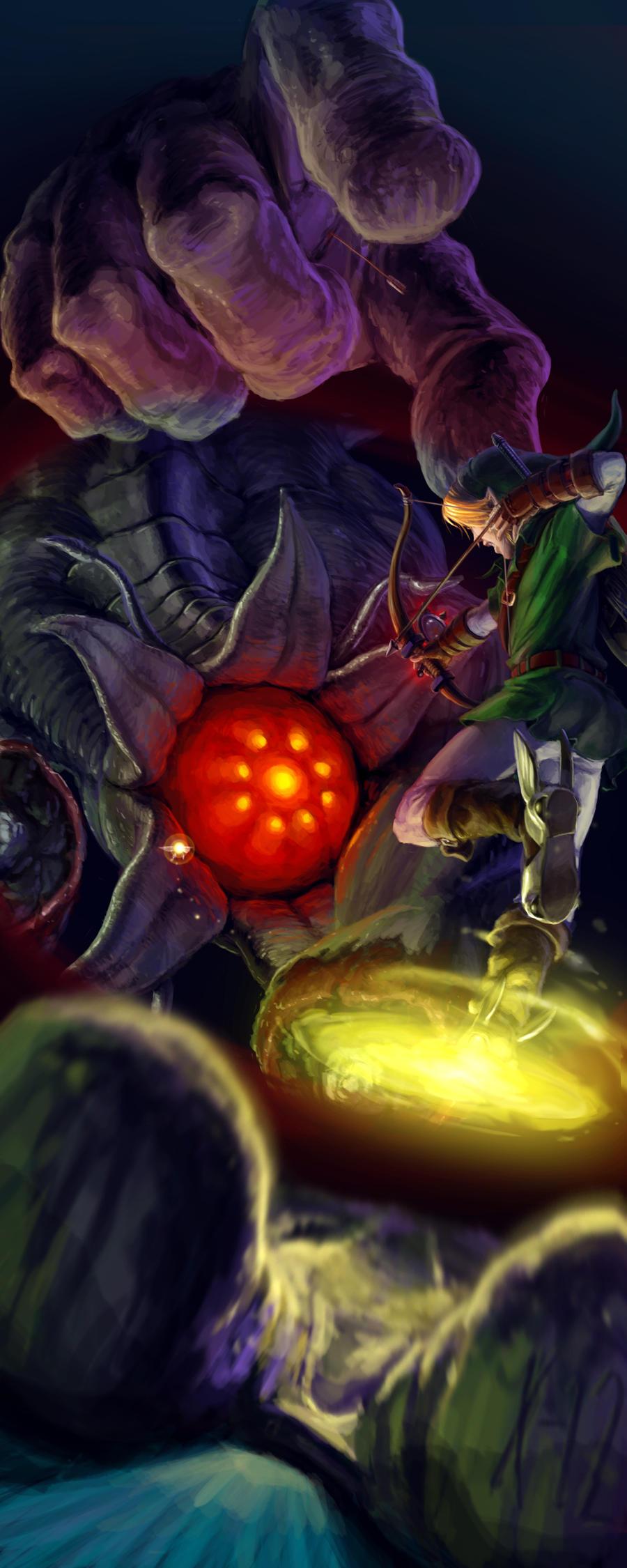 Link vs. Bongo Bongo by Txikimorin