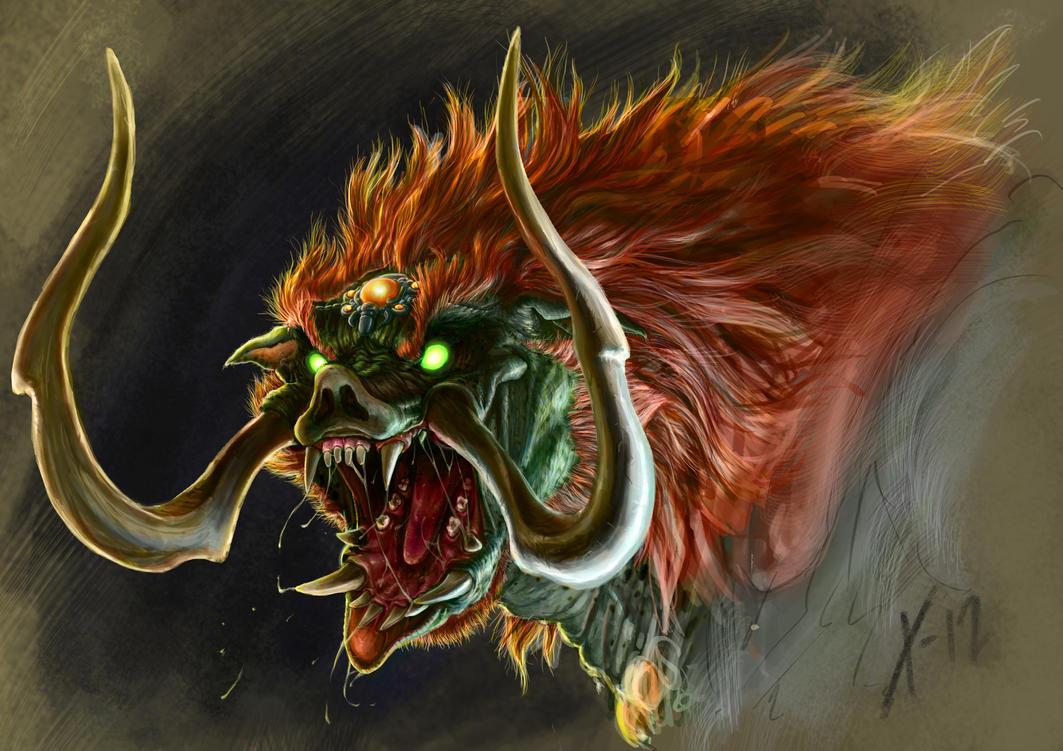 Epic Link Cosplay Creating Ganon The Dark Beast Ingenius