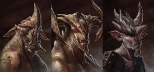 Demon Portrait 1