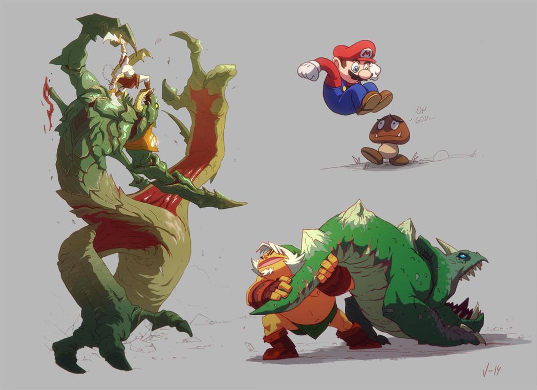 SUPER AMAZING FANART FIGHTS! By Txikimorin On DeviantArt
