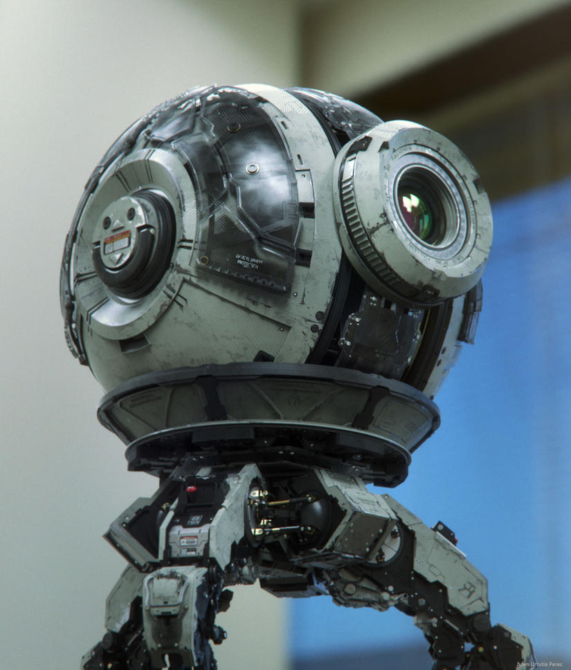 Robo 10-S.I.O. render 2 by Txikimorin