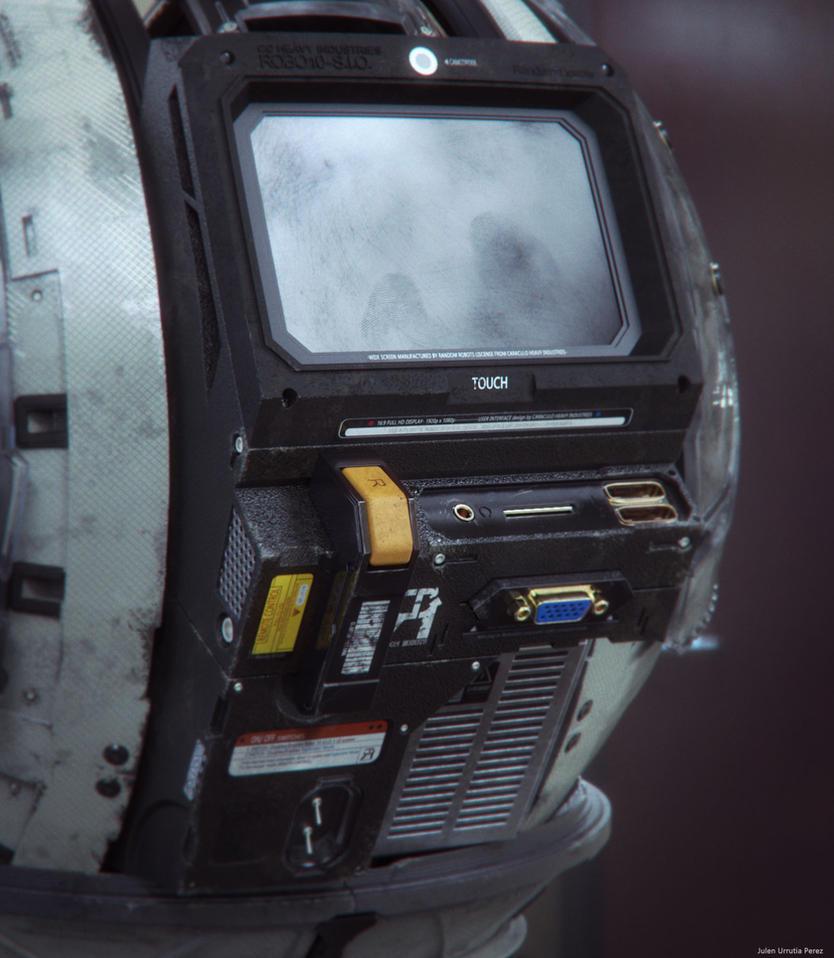 Robo 10-S.I.O. render 3 by Txikimorin