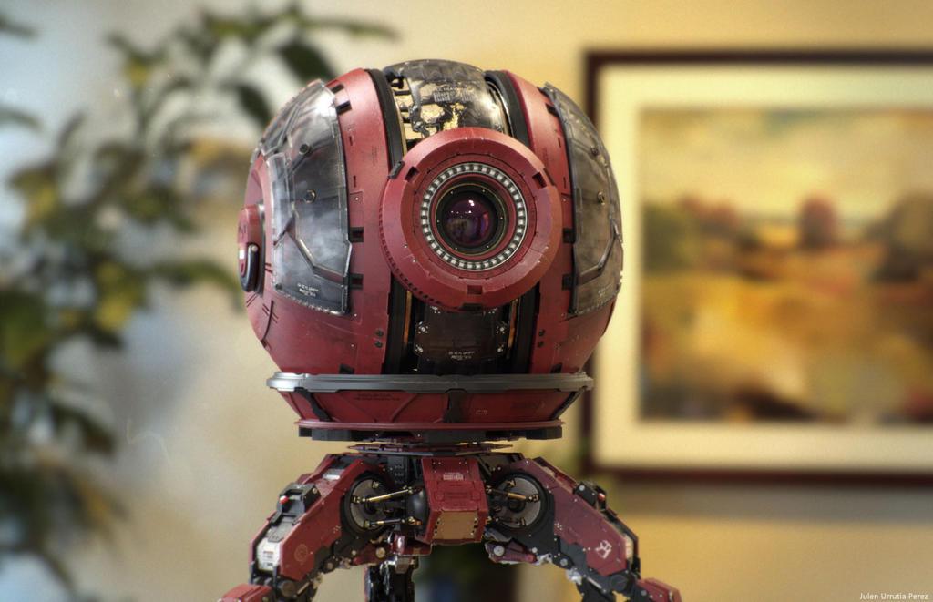 Robo 10-S.I.O. render 4 by Txikimorin