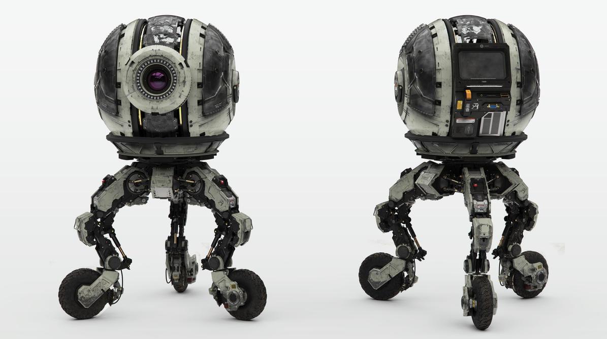 Robo 10-S.I.O. GIGANTIC RENDER by Txikimorin