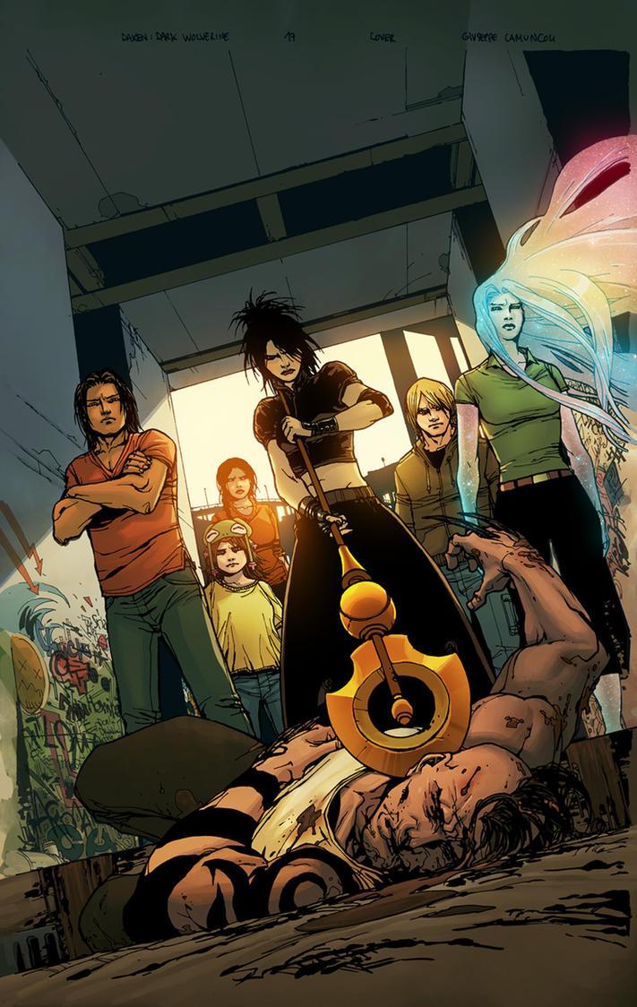Daken Dark Wolverine 17 by jessicakholinne