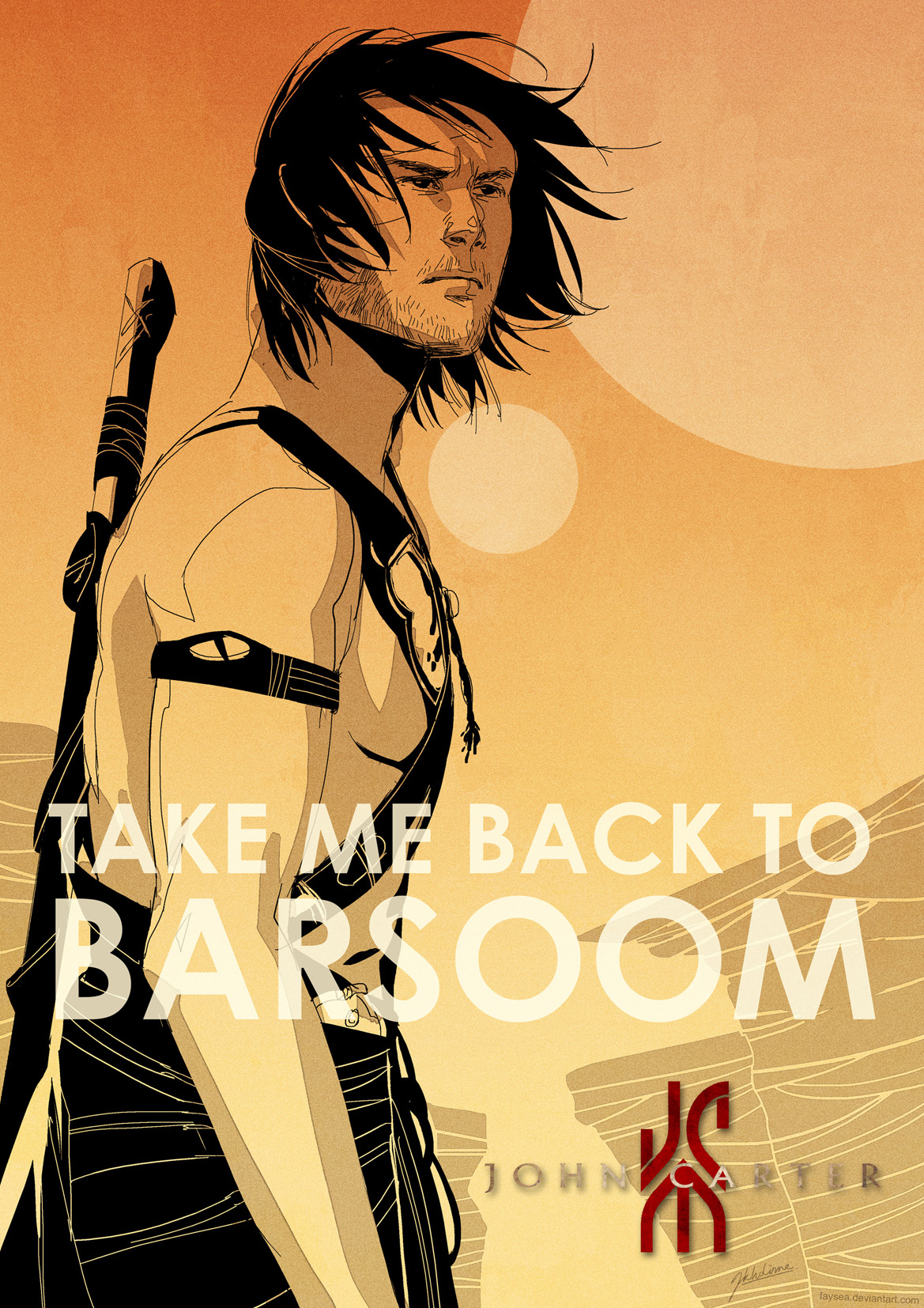 Take Me Back To Barsoom by jessicakholinne