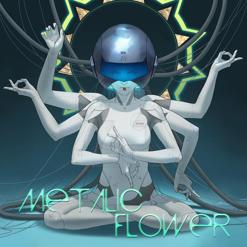 Metalic Flower