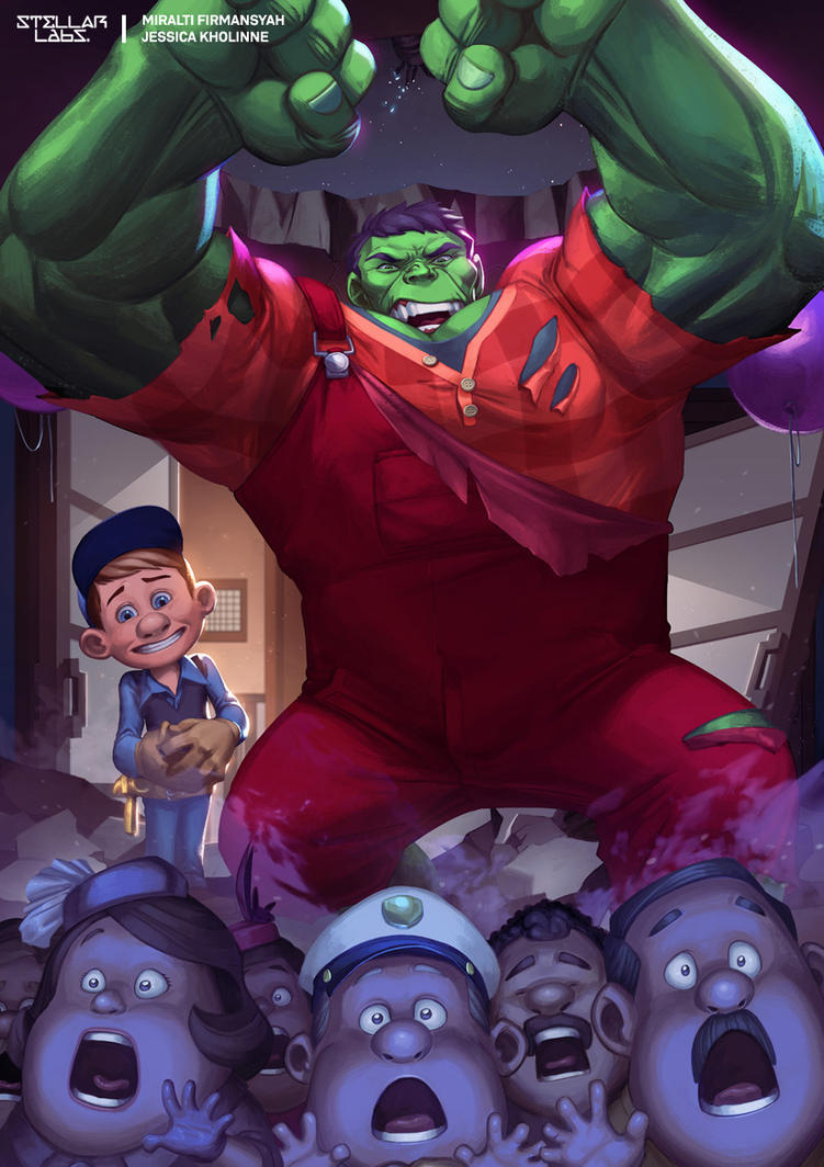 FIX-IT HULK by jessicakholinne