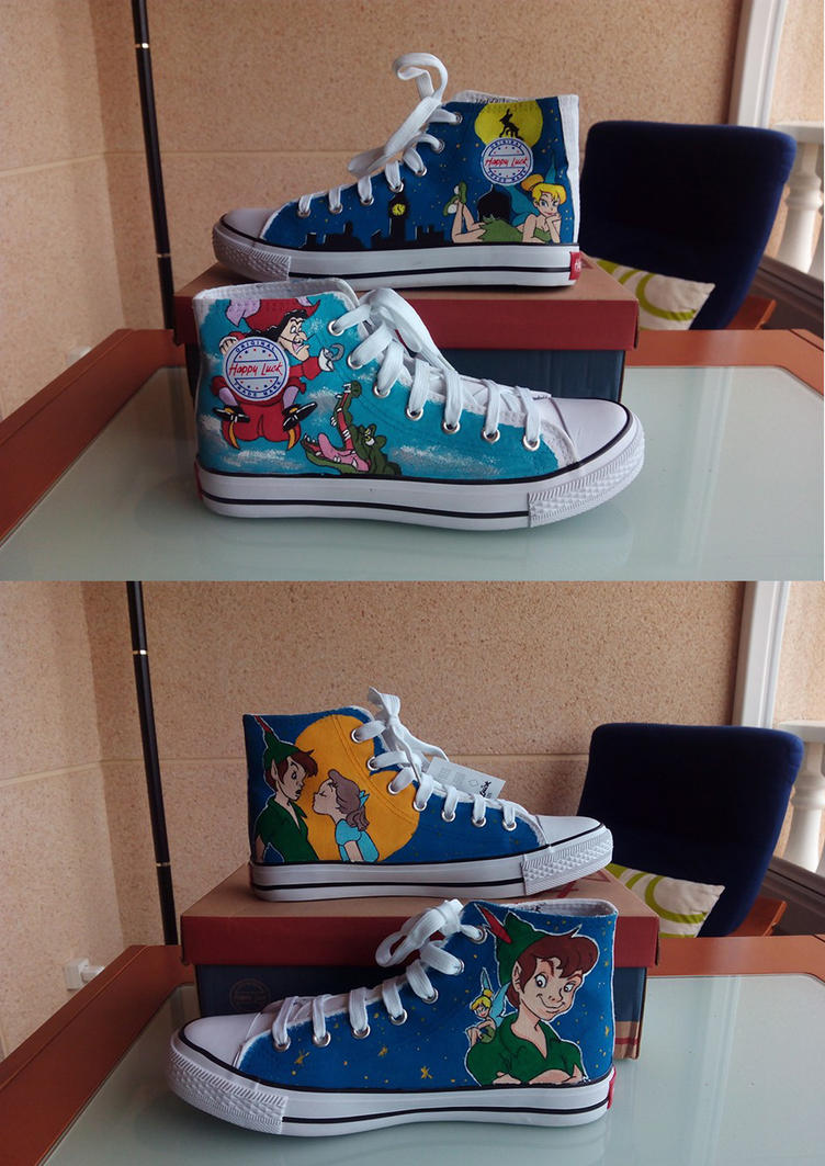Peter Pan shoes by anapeig