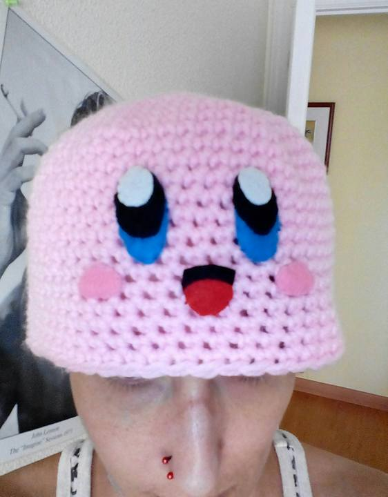 Kirby hat by anapeig