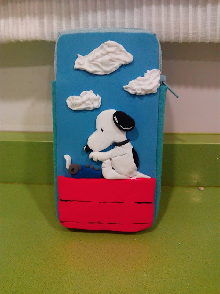 Snoopy 3D mobile case by anapeig