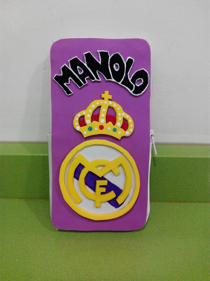 Mobile case Real Madrid by anapeig