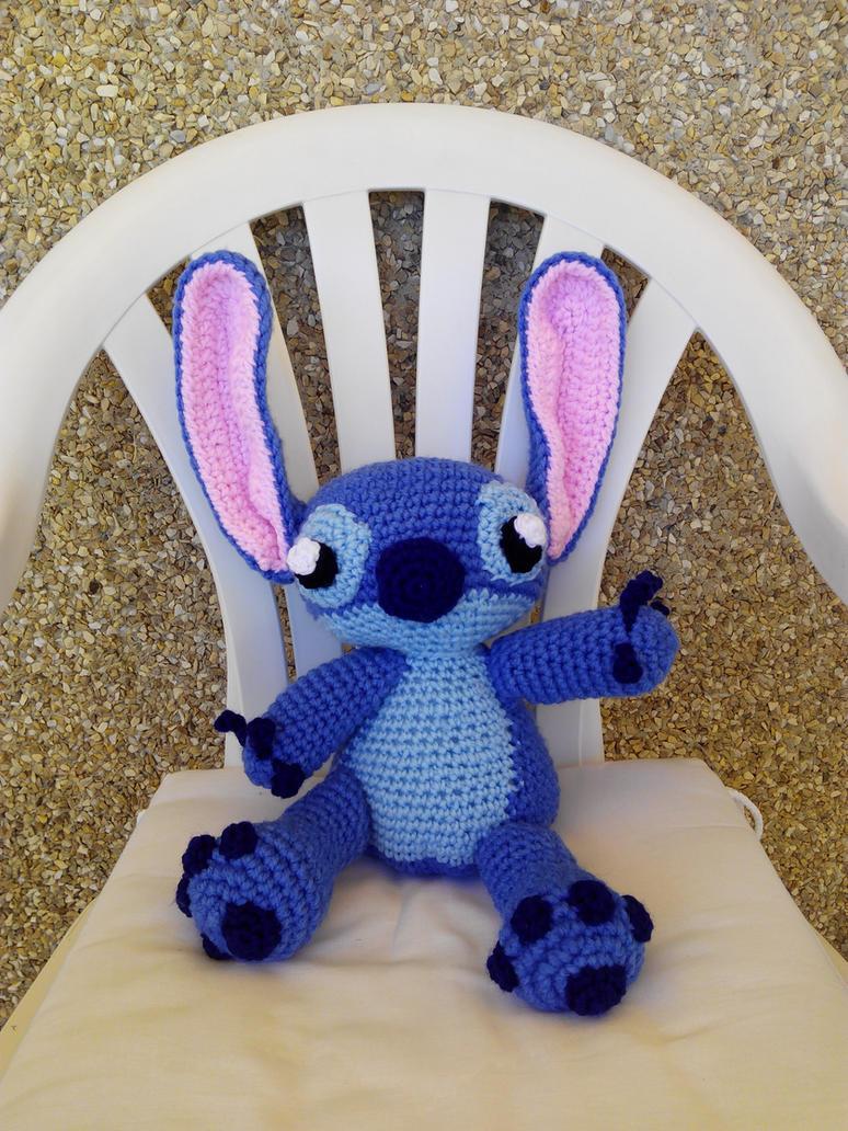Stitch amigurumi by anapeig