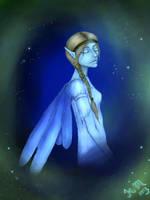 Blue elf by Slovanka