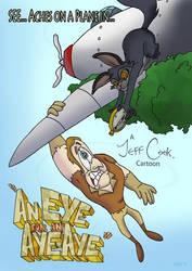 'An Eye for an Aye-Aye' Poster by JeffereyCook