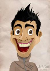 Untooned Self Portrait by JeffereyCook