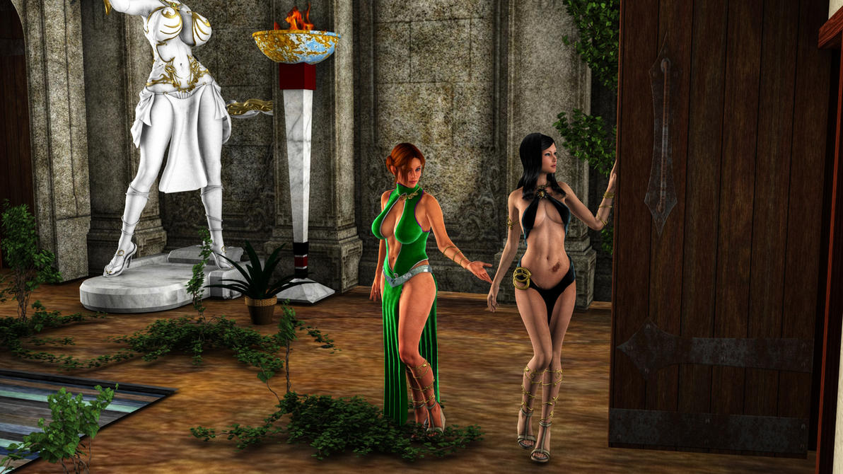 Ophelie and Norma by Donighal