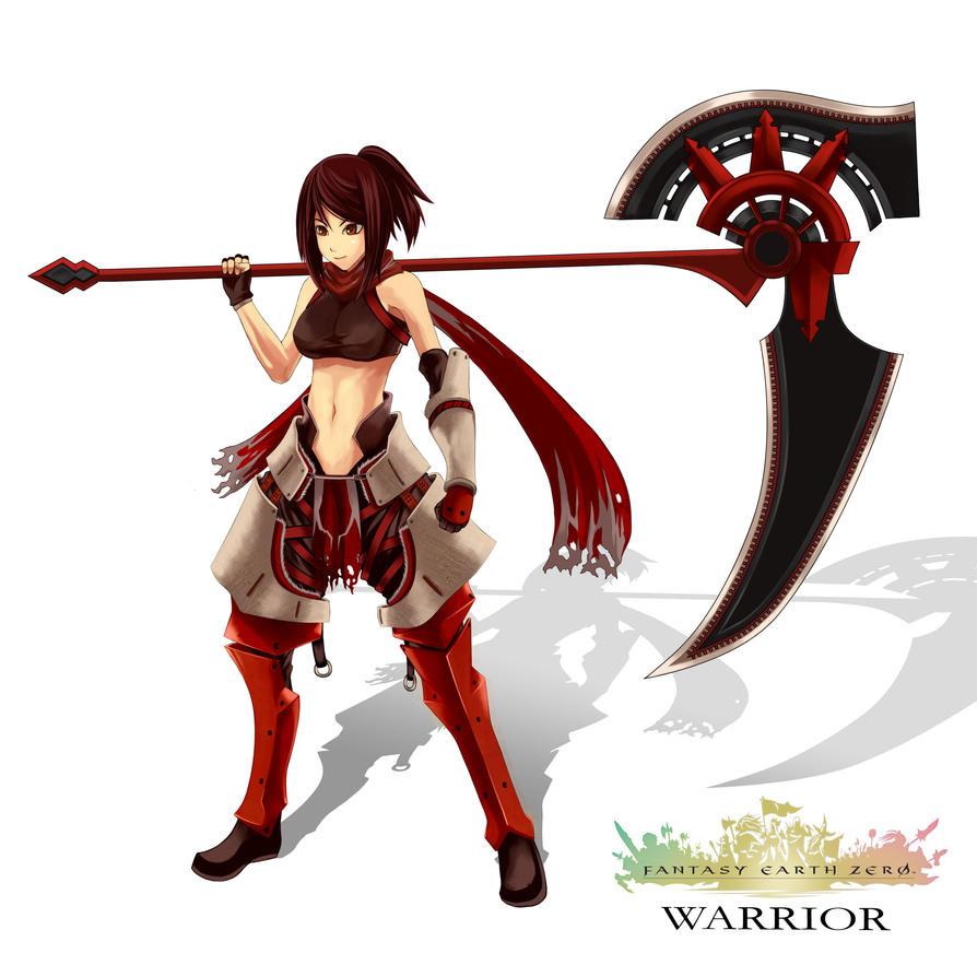 Warrior by JIRAKUN