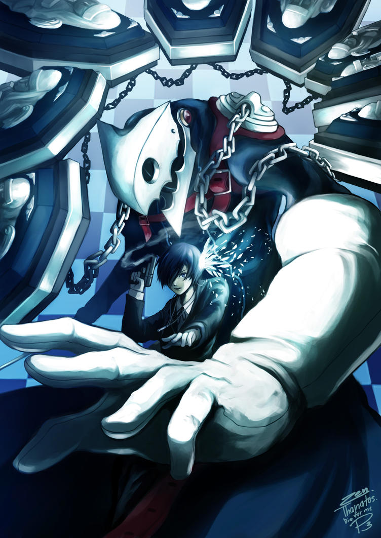 Persona 3 by JIRAKUN
