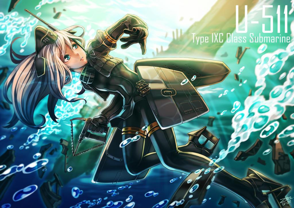 U-511 by JIRAKUN