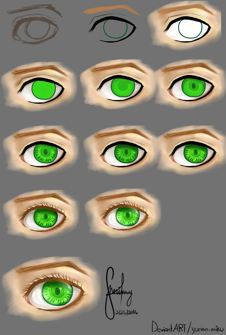 Eye Tutorial no. 1 by yurian-miku
