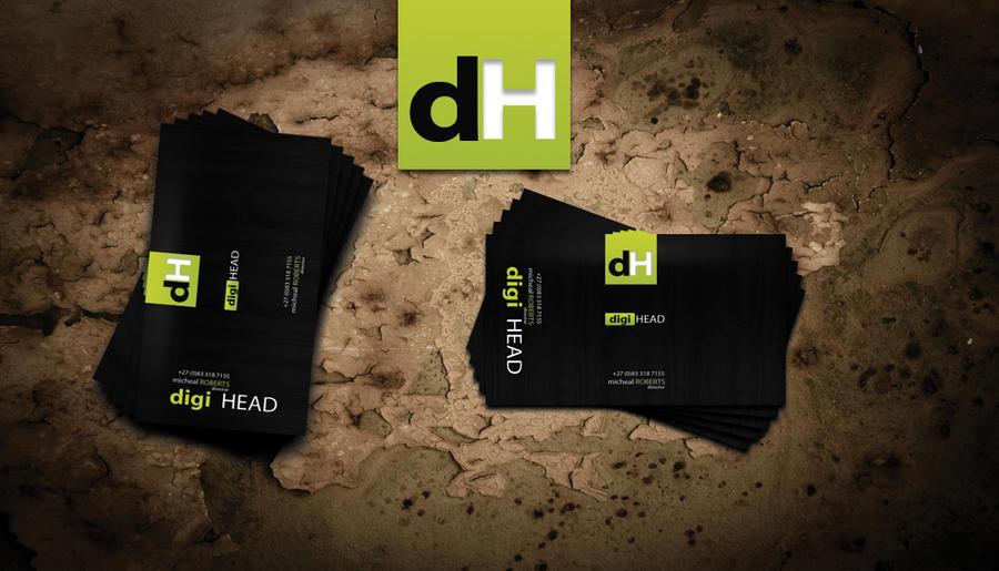 Digihead Business Card