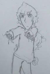 [UTAU 30 Day] #8 - fingerless finger guns lol by Aurinn-N