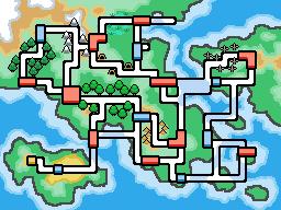 New Style Region Map by Riceeman