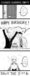 Glynda's Surprise Party by Monotsuki