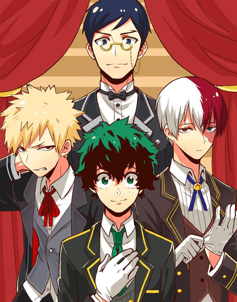 Hero Butlers by Monotsuki
