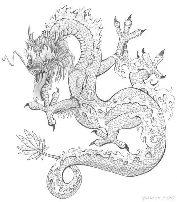 Chinese Dragon Lizard by princess-phoenix