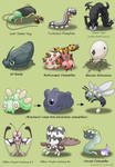 Pokefied Bugs