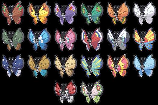 Vivillon Pattern Collection